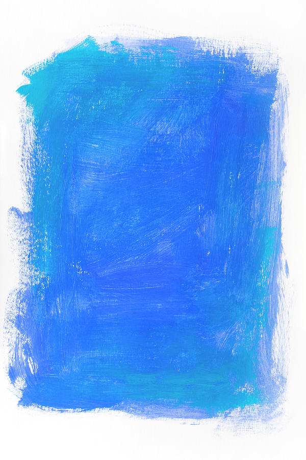 Blue Backdrop Photograph by Supermimicry