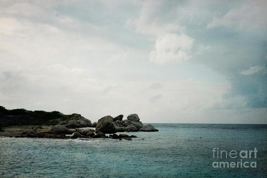 Curacao Photograph - Blue Bay Beach by Kim Fearheiley