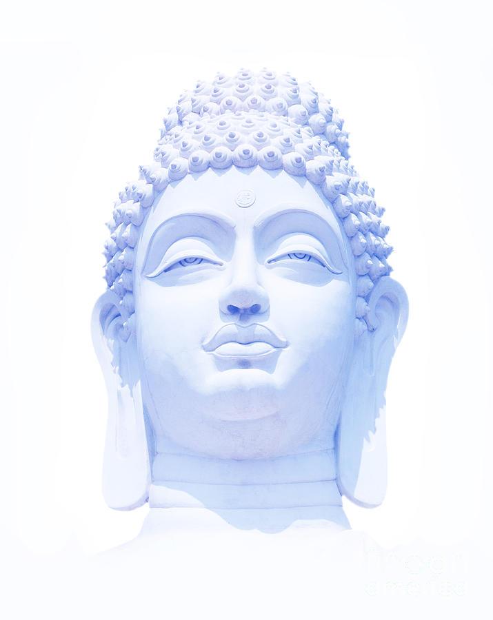 Buddha Photograph - Blue Buddha by Tim Gainey