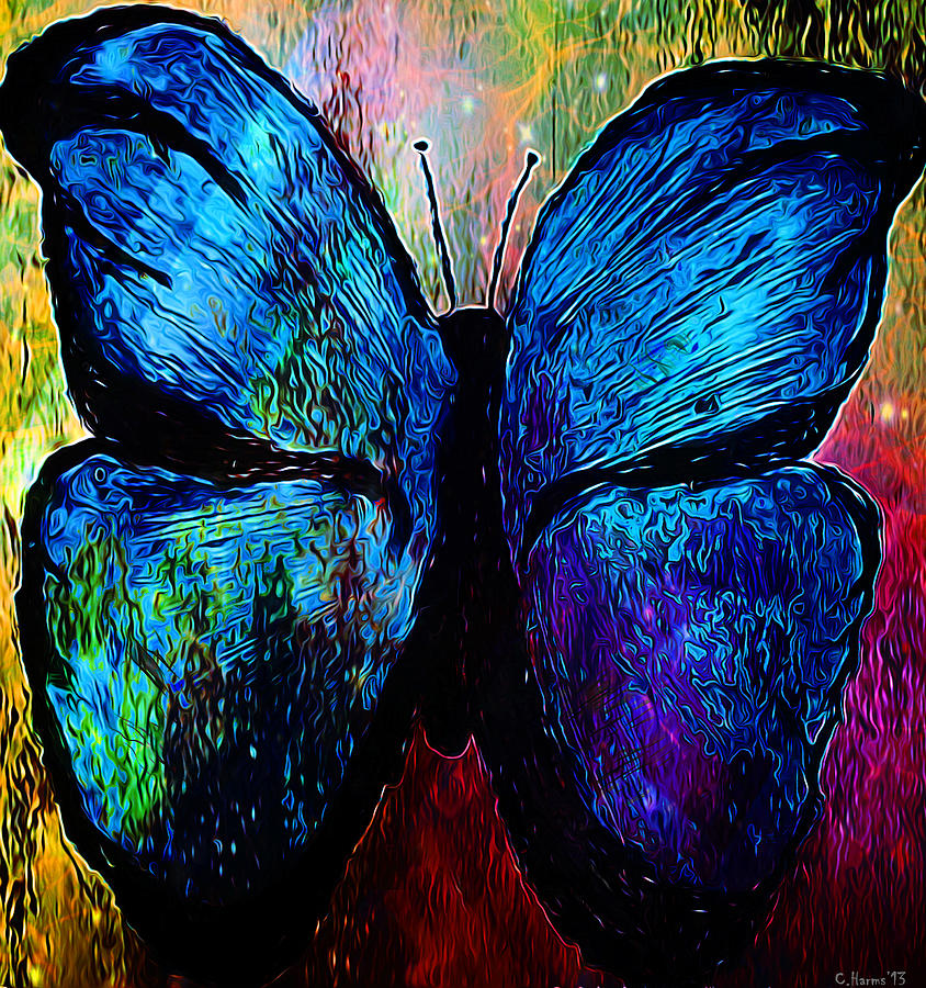 Blue Butterfly by Catherine Harms