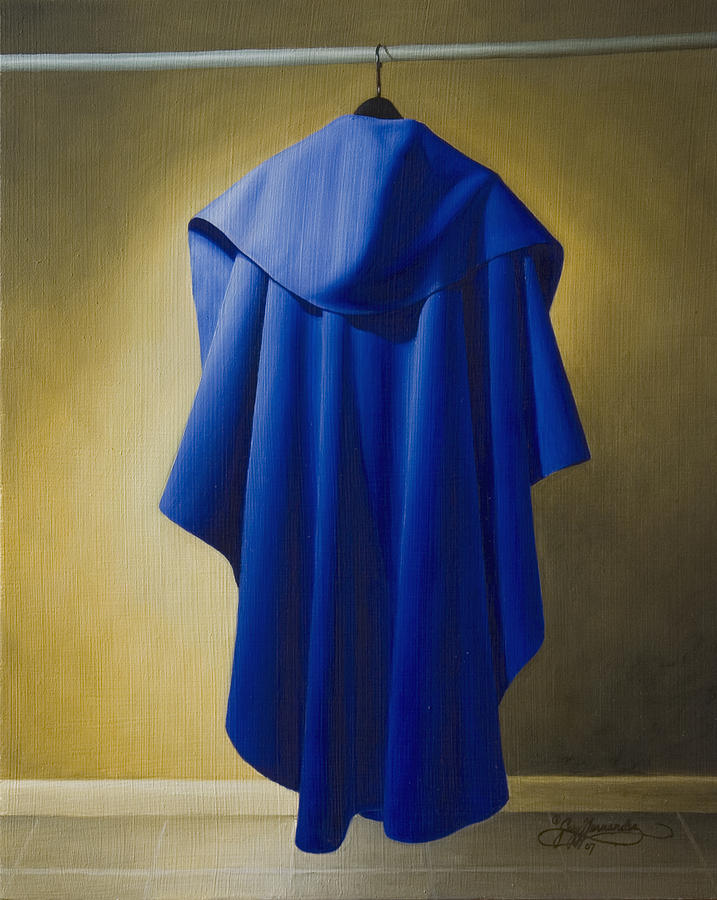 Realism Painting - Blue Cape by Gary  Hernandez