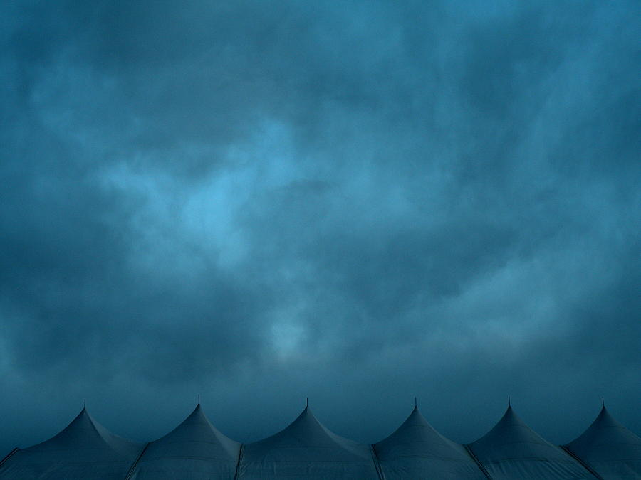 Sky Photograph - Blue Carnival by M Pace