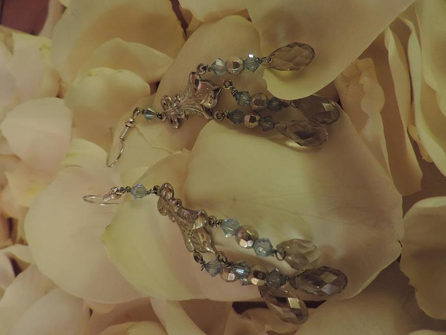 Swarovski Jewelry - Blue Chandelier   by Darcy Lewis