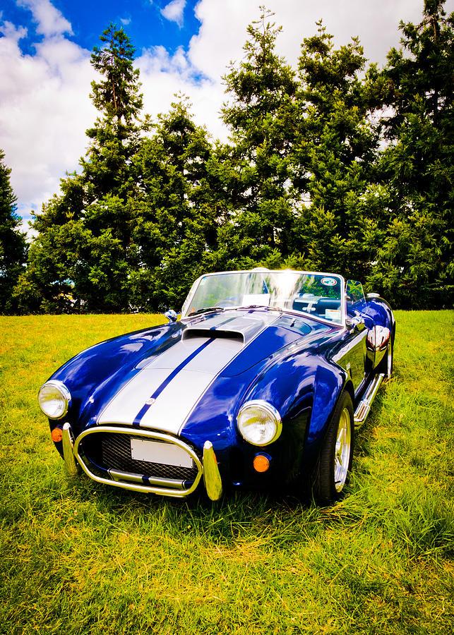 Ac Cobra Photograph - Blue Cobra by Phil motography Clark