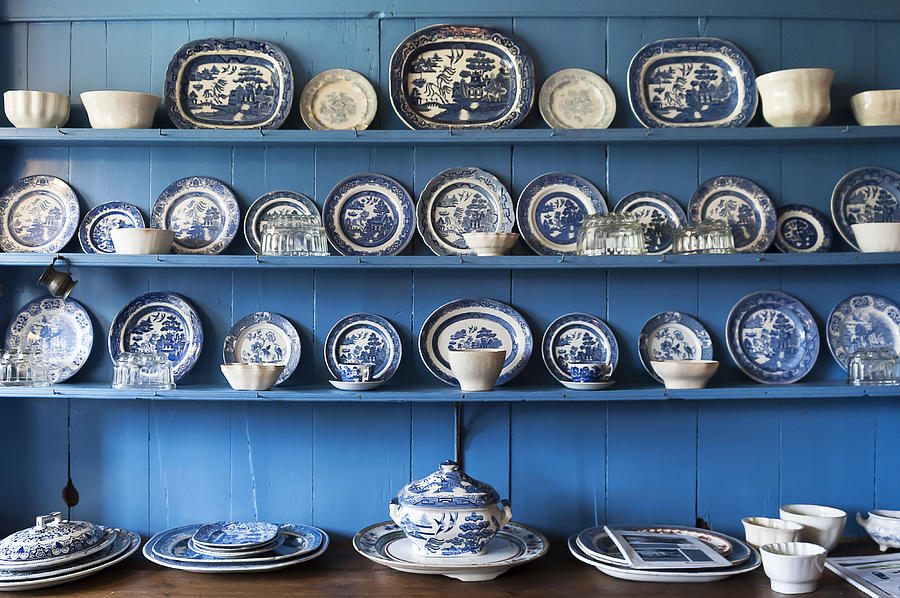 Collection Photograph - Blue Collection by Svetlana Sewell