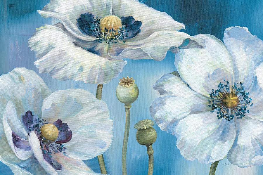 Blue Painting - Blue Dance I by Lisa Audit