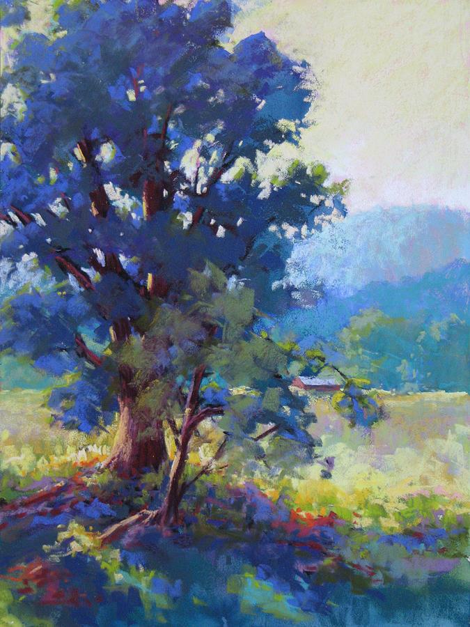 Blue Dogwood Painting By Marsha Savage