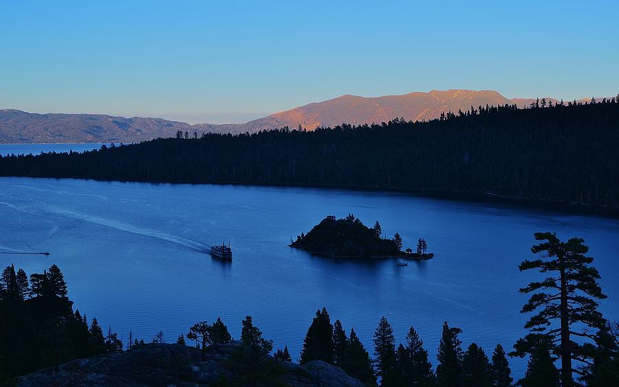 Blue Emerald Bay Lake Tahoe by Marilyn MacCrakin