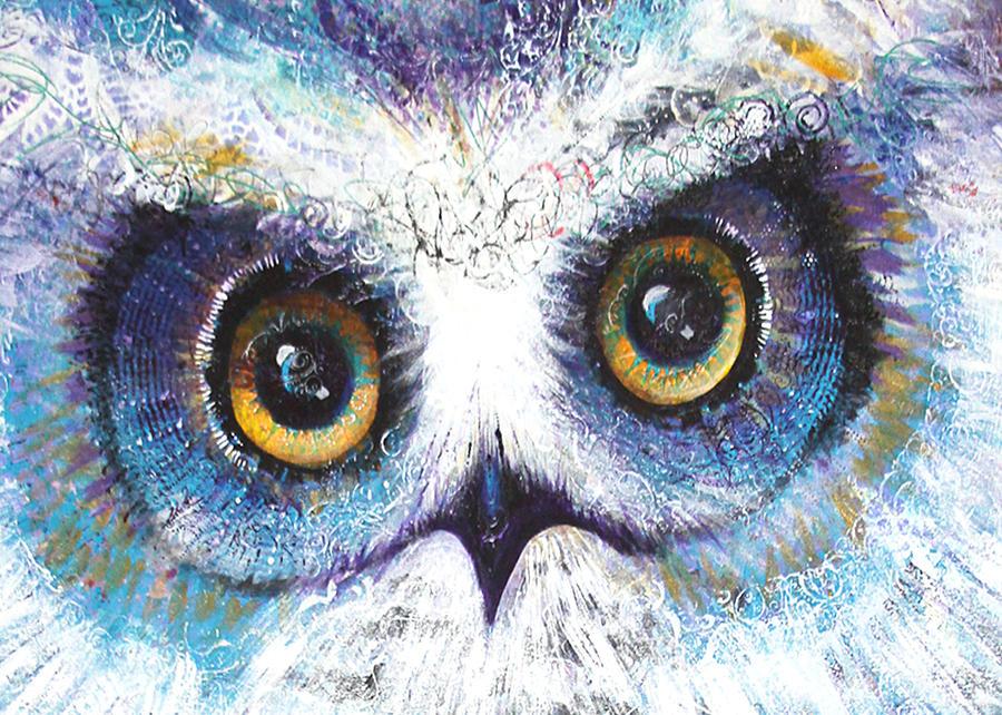 Blue Eyes by Laurel Bahe