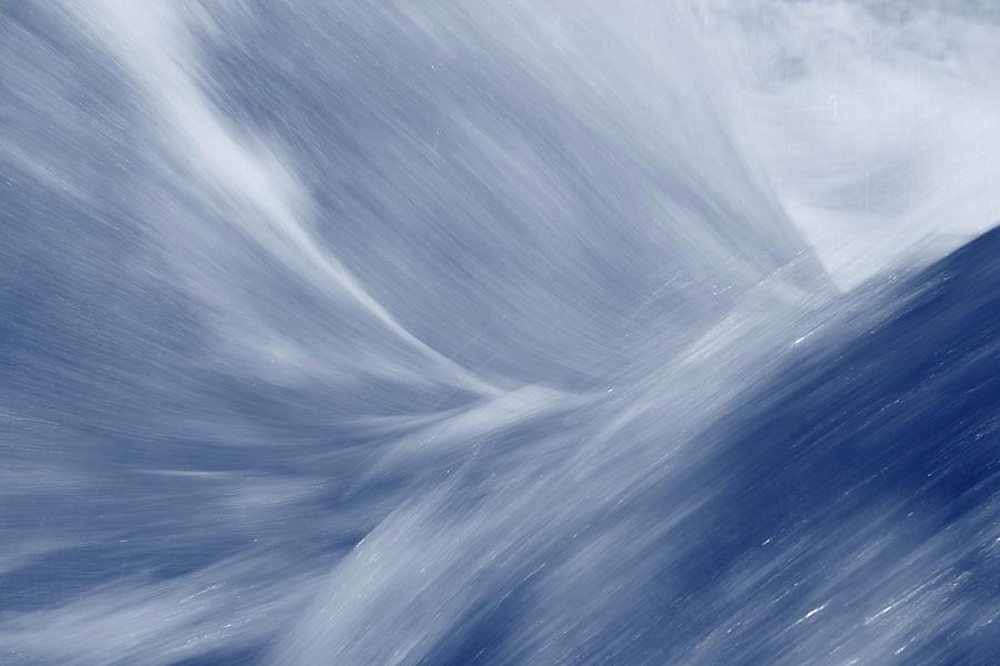 Water Photograph - Blue Flow by Ulrich Kunst And Bettina Scheidulin