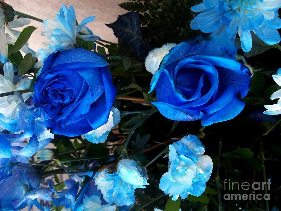 Blue For Hims Photograph by Vladimir Berrio Lemm