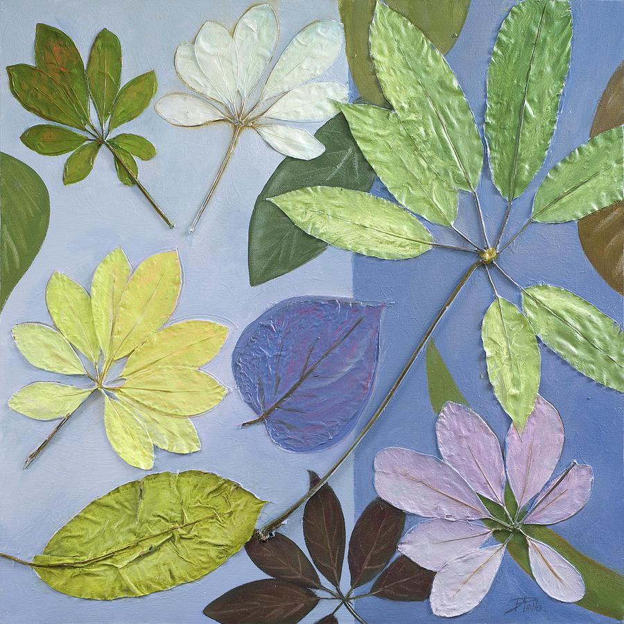 Blue Digital Art - Blue Garden II by Patricia Pinto