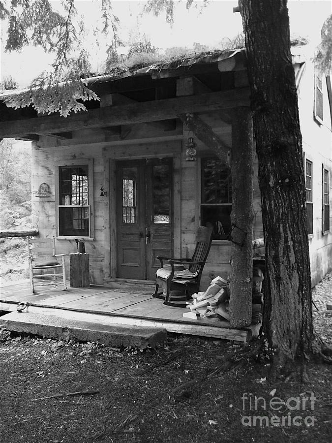 Blue Grass Home Photograph