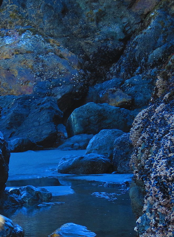 Blue Grotto Photograph by Alex  Call