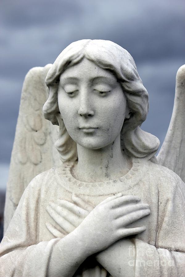 Angel Photograph - Blue Heaven by Sophie Vigneault