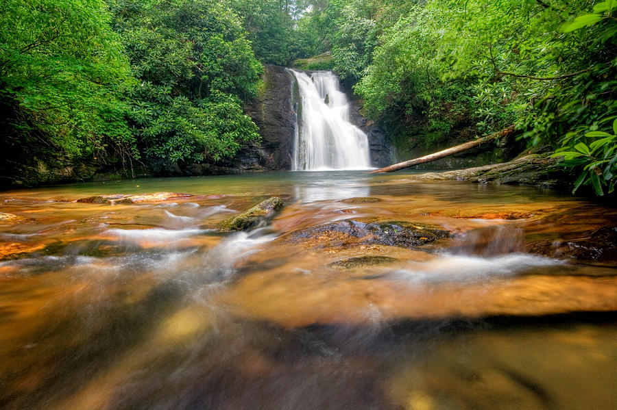 Landscape Photograph - Blue Hole Falls by Scott Moore