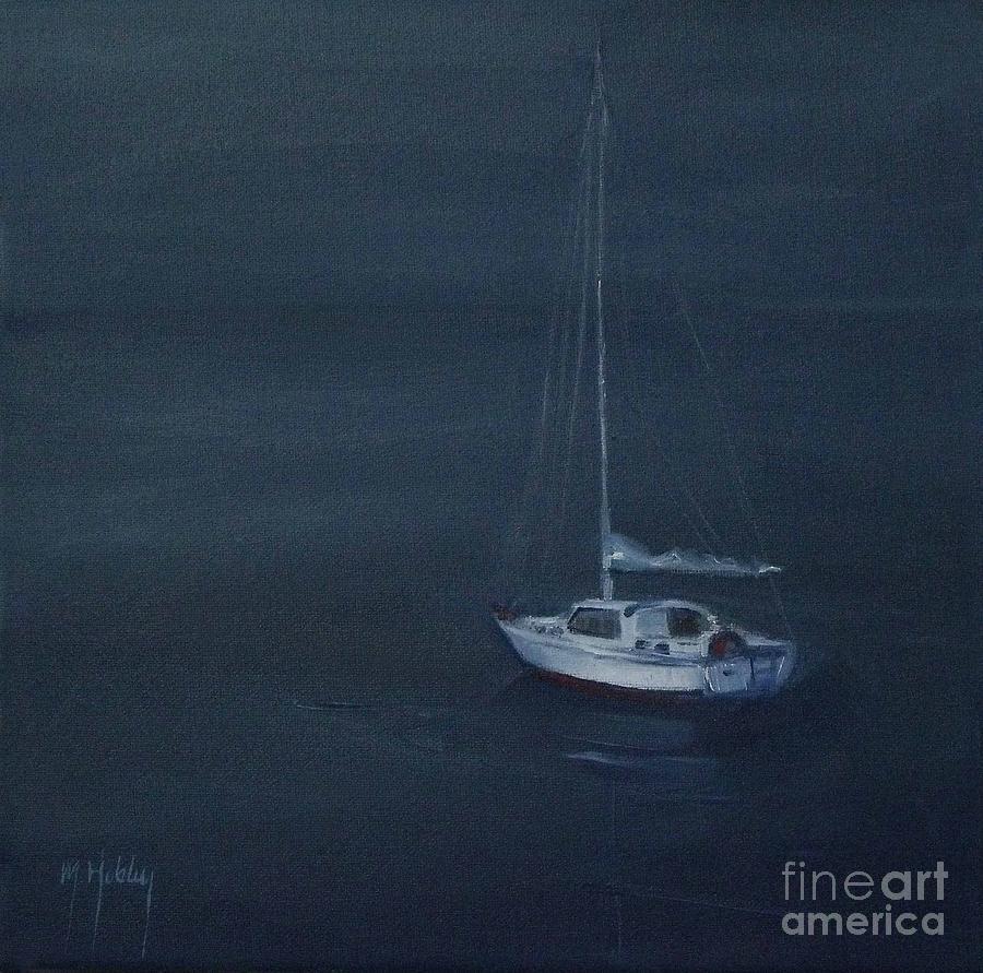 Blue Horizon Painting