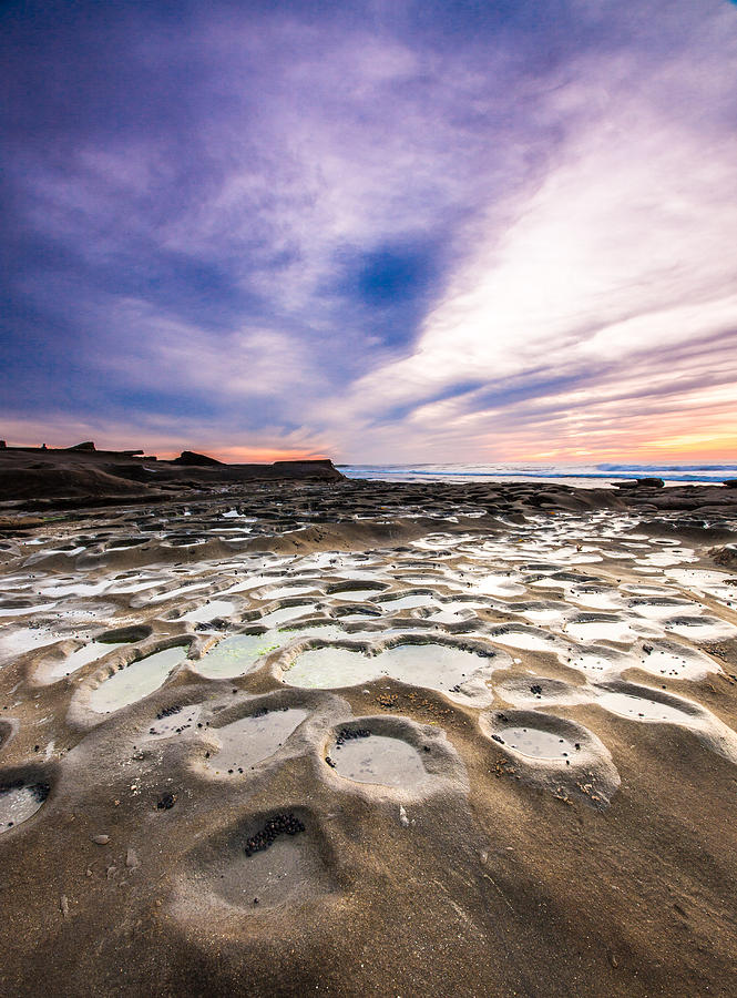Sunset Photograph - Blue Hour in La Jolla by Robert  Aycock