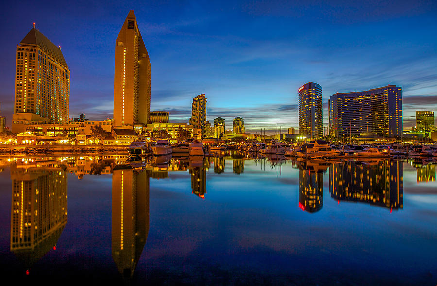 Blue Hour Photograph - Blue Hour by Robert  Aycock