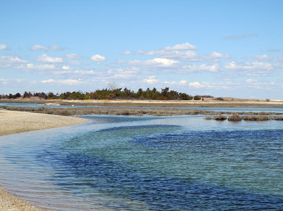 Coastal Photograph - Blue In Flow by Lynda Lehmann