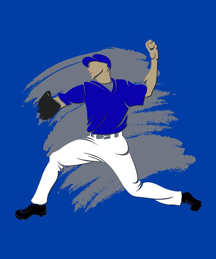 Blue Jays Photograph - Blue Jays Shadow Player3 by Joe Hamilton