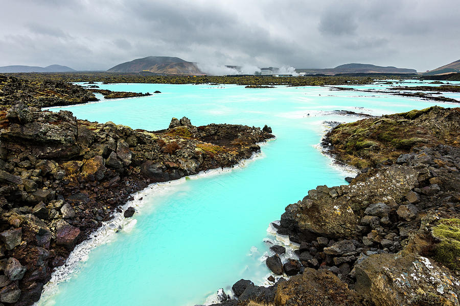 Blue Lagoon, Iceland, Europe Photograph by Chrishepburn