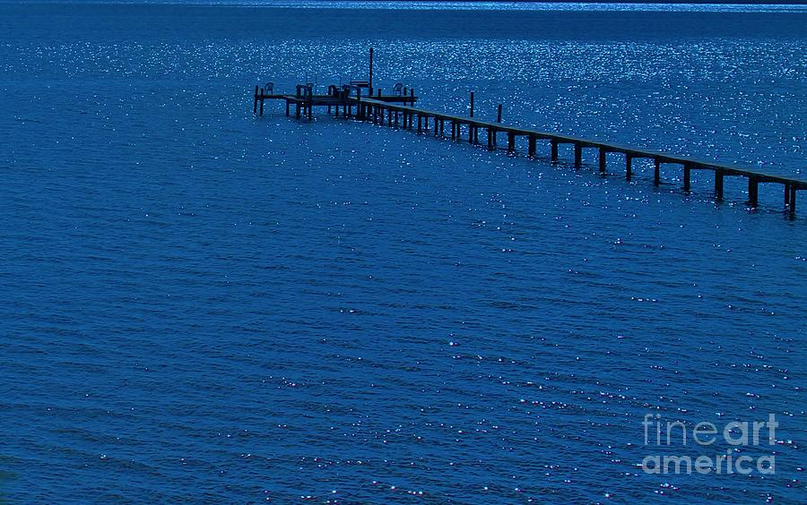 Blue Photograph - Blue Lagoon by Keri West