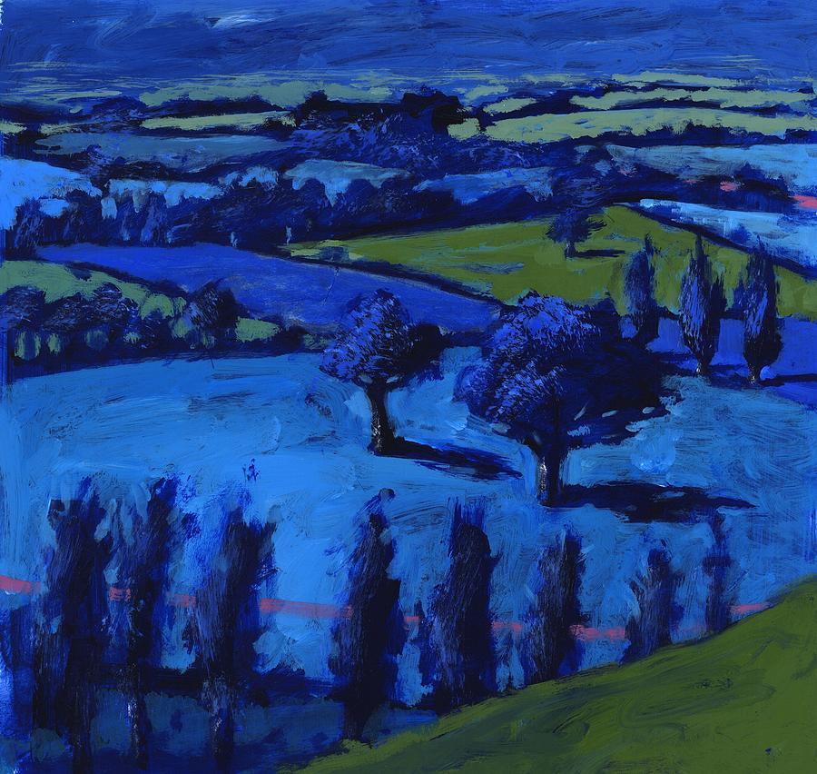 Blue Landscape Photograph - Blue Landscape by Paul Powis