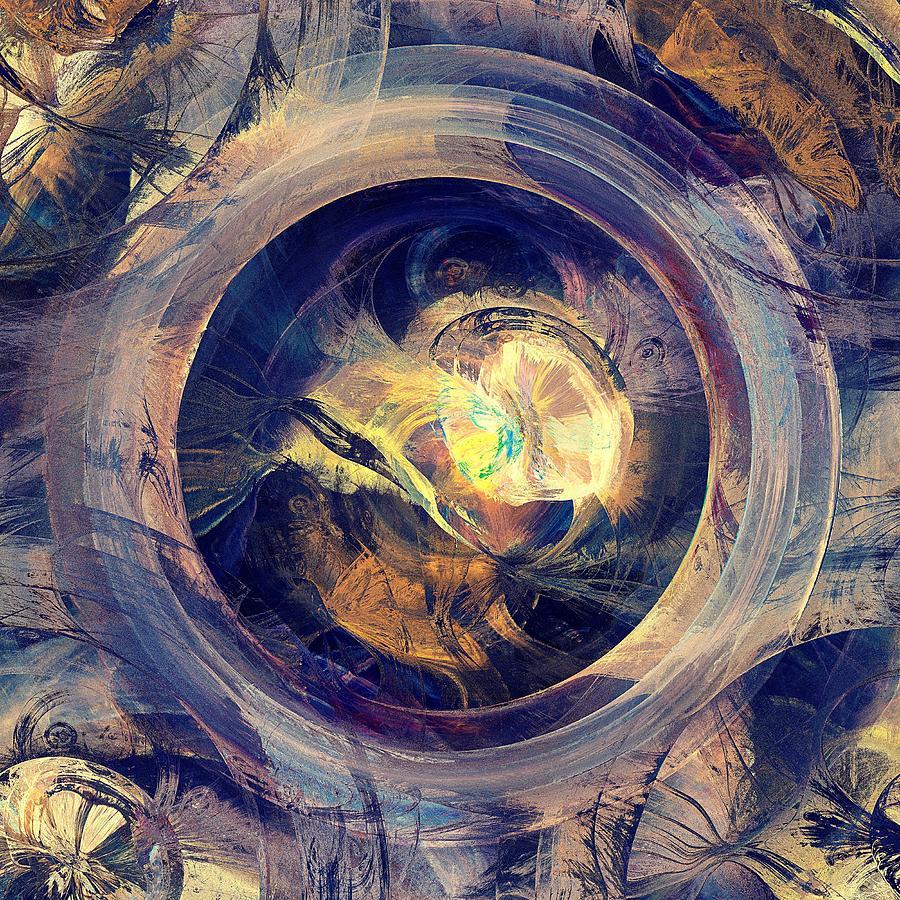 Computer Digital Art - Blue Legend by Anastasiya Malakhova