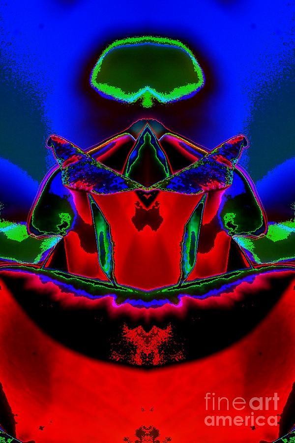 Blue Mantle Digital Art - Blue Mantle by Lorles Lifestyles