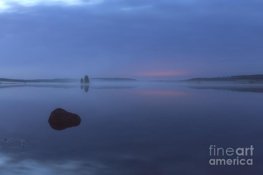 Art Photograph - Blue Moment by Veikko Suikkanen