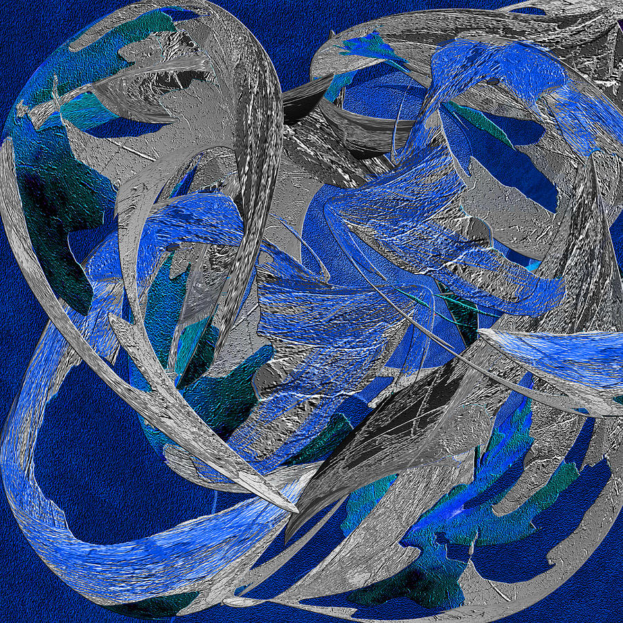 Blue Moon Dancer Painting