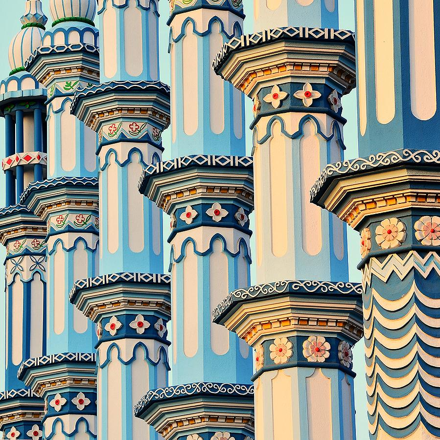Blue Mosque Photograph by Baxsyl