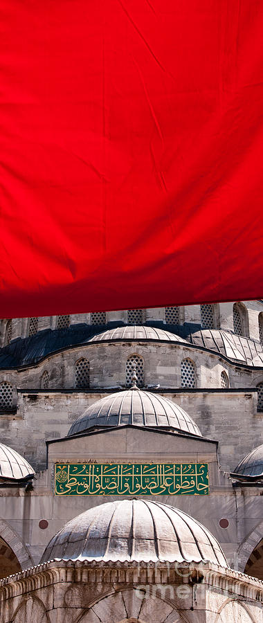 Istanbul Photograph - Blue Mosque Domes 04 by Rick Piper Photography