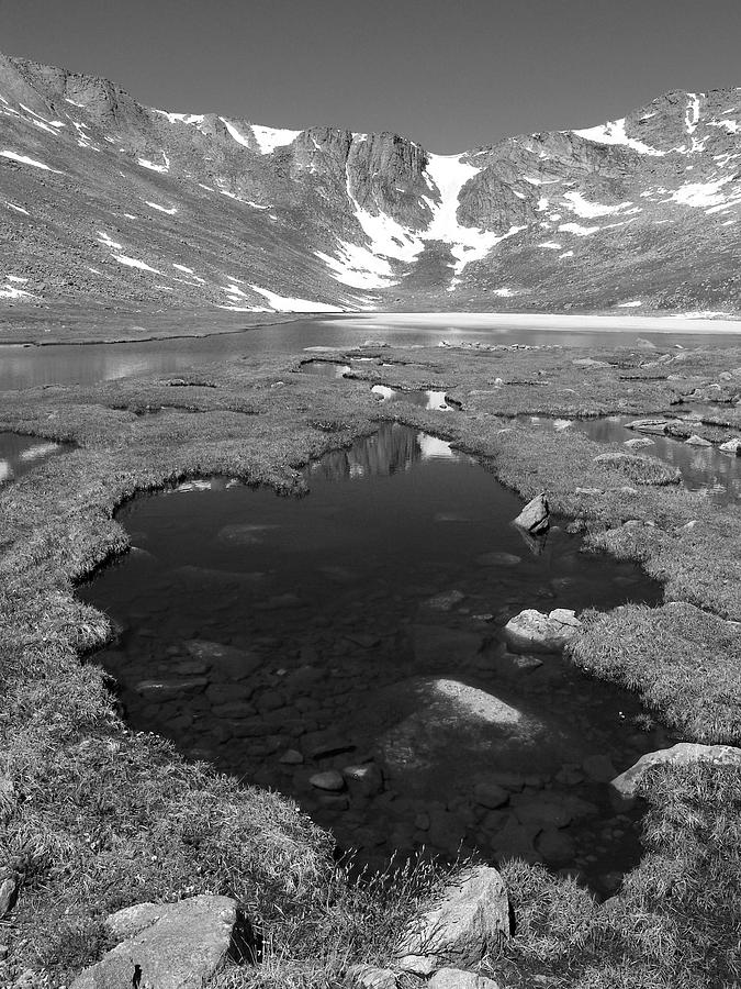 Blue Mountain Lake Photograph