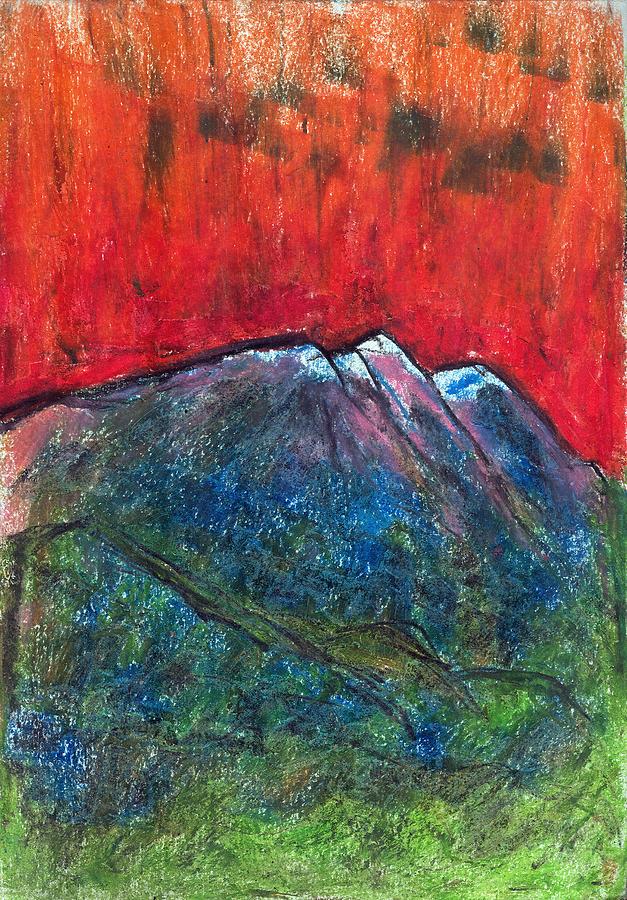 Nature Pastel - Blue Mountains by Yuri Lushnichenko