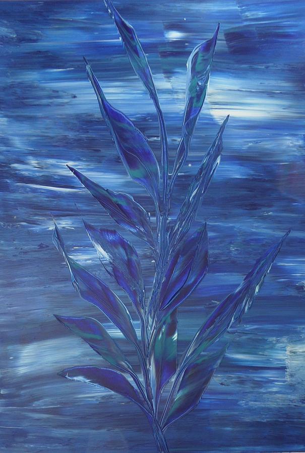 Nico Painting - Blue by Nico Bielow