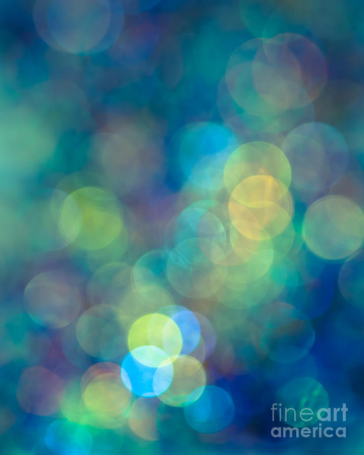 Abstract Photograph - Blue Of The Night by Jan Bickerton
