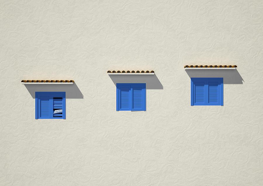 Blue Digital Art - Blue by Paul McManus