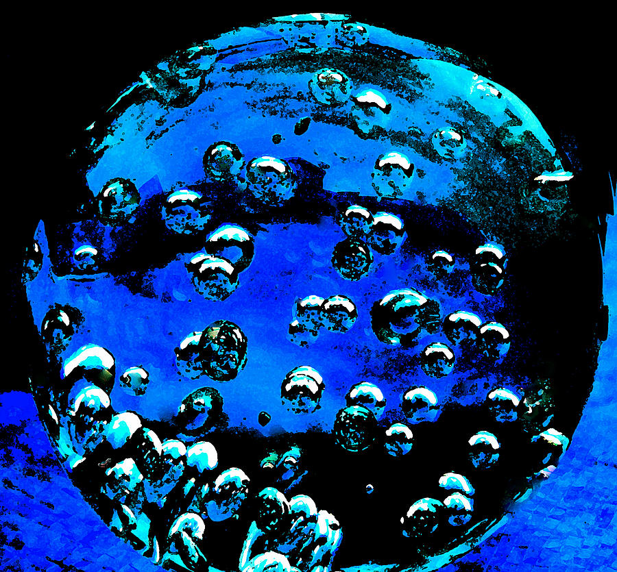 Colette Photograph - Blue Planet  by Colette V Hera  Guggenheim