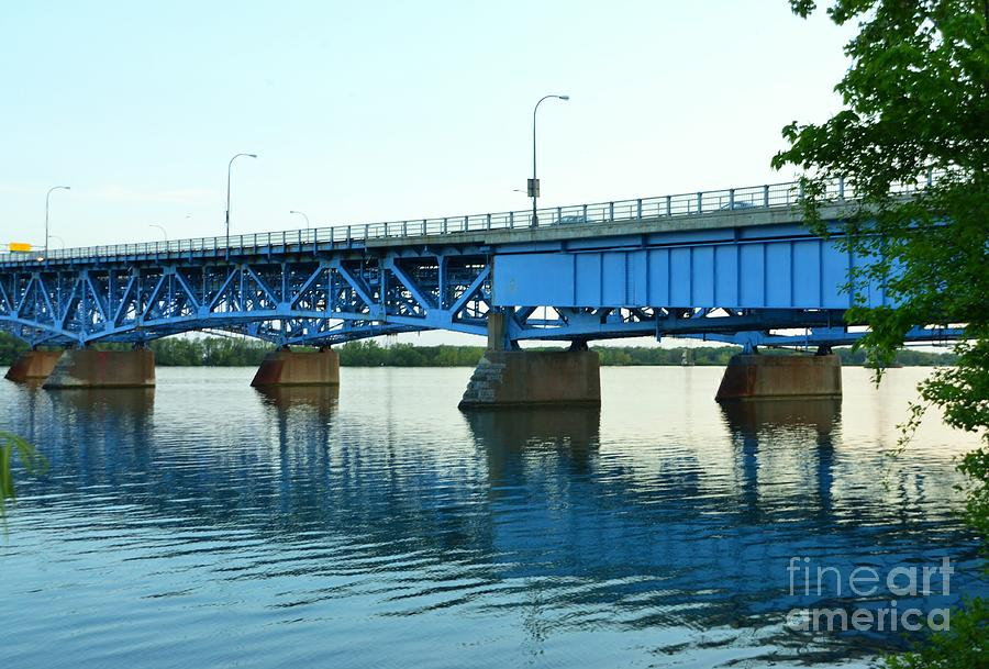 Grand Photograph - Blue Reflections by Kathleen Struckle