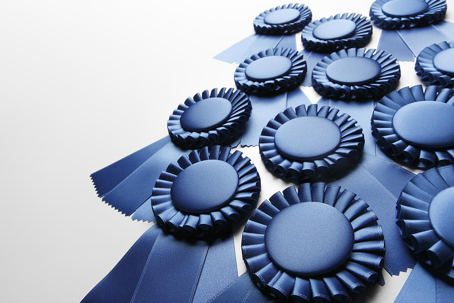 Blue Ribbons Photograph by Dny59