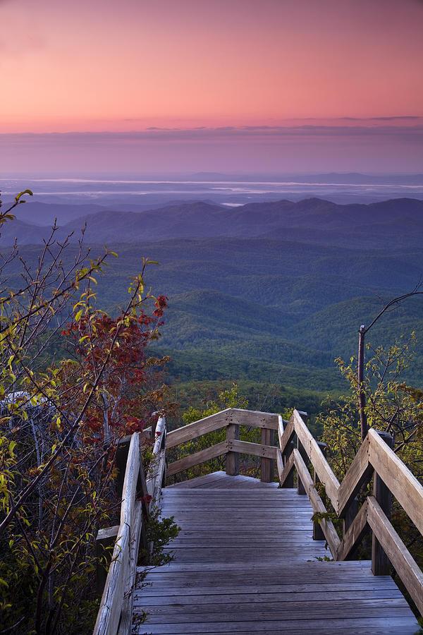 Blue Ridge Parkway Photograph - Blue Ridge Morning by Andrew Soundarajan