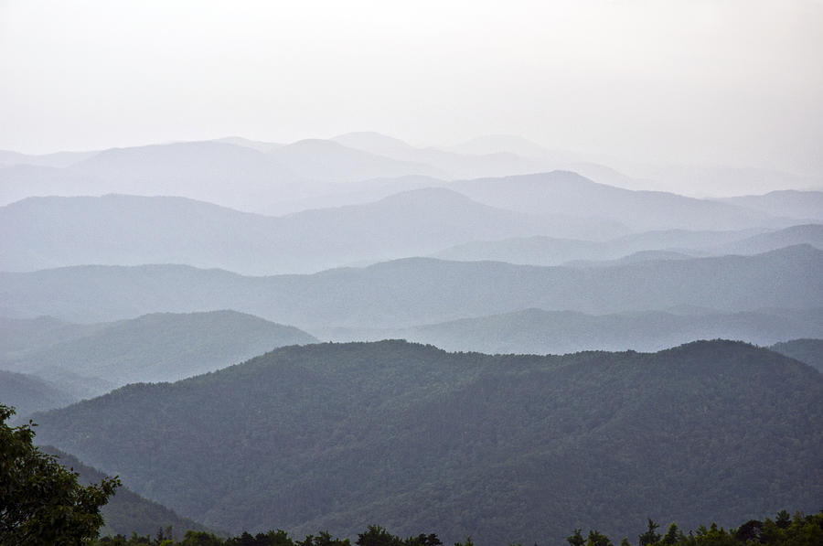Blue Ridge Mountains Photograph