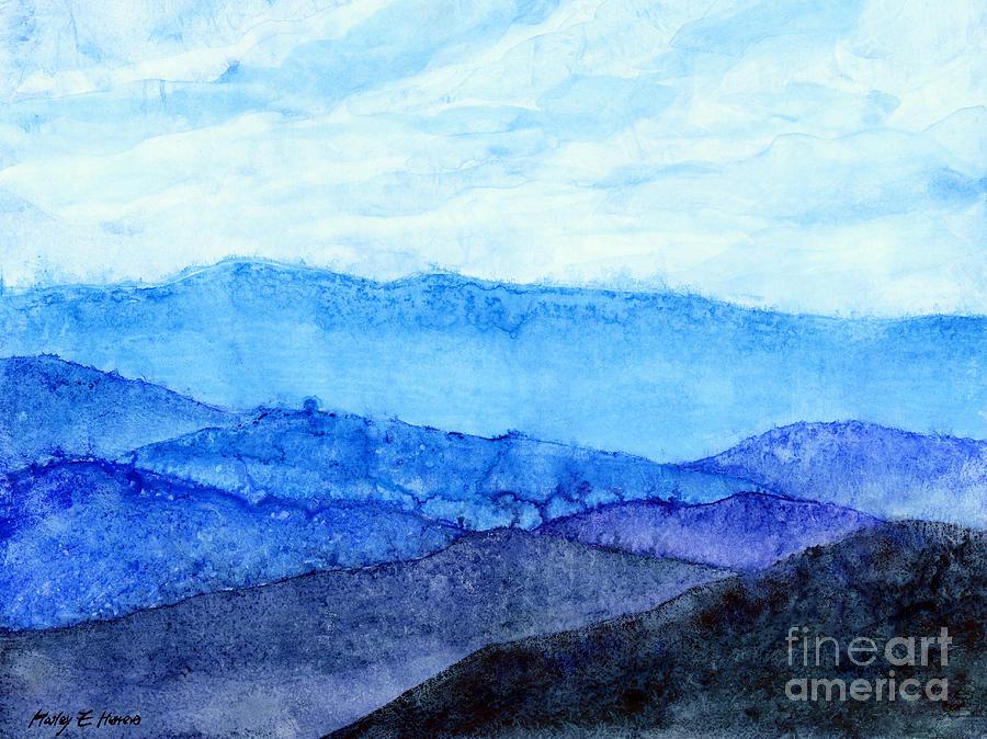 Blue Ridge Mountains Painting