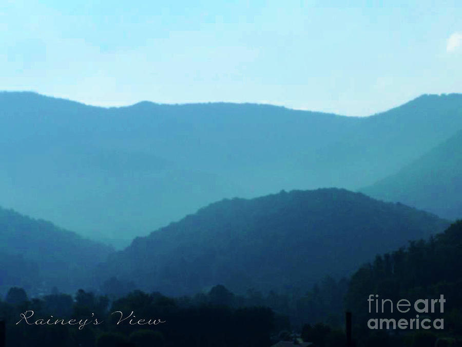 Photograph - Blue Ridge Mountains by Lorraine Heath