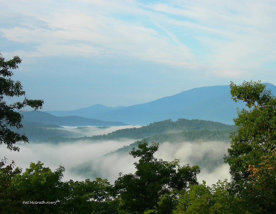 Blue Ridge Mountains Photograph - Blue Ridge Mountains by Pat McGrath Avery