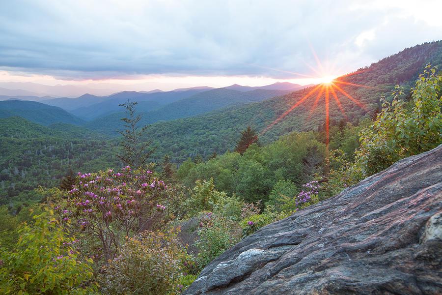 Sunset Photograph - Blue Ridge Sunset by Doug McPherson