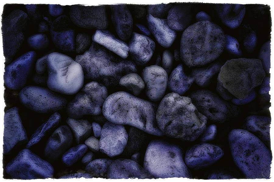 Chev Photograph - Blue Rocks by Jerry Golab
