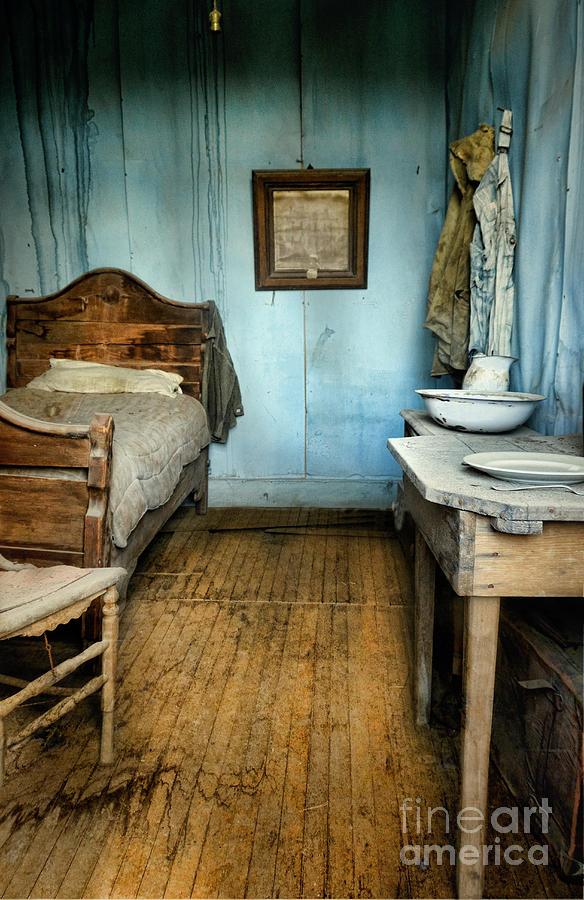 Room Photograph - Blue Room by Jill Battaglia